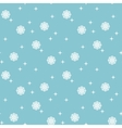 ongoing christmas snowflakes background vector image vector image