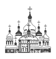 Orthodox Cathedral vector image