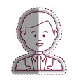 young businessman avatar character vector image vector image