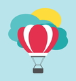 balon leteci poster vector image