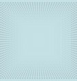 blue halftone pattern vector image
