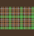 check pixel plaid fabric texture seamless pattern vector image