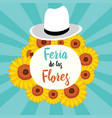 flowers festival is a festival that takes vector image vector image