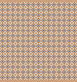 geometric seamless pattern with color diagonal vector image vector image