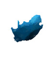 map - blue geometric rumpled triangular low poly