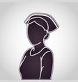 nurse logo icon design vector image