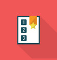 page rank icon set of great flat icons with vector image vector image
