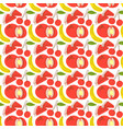 pattern seamless with fruit element watermelon vector image vector image