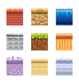 textures for games vector image vector image