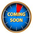 Coming soon icon vector image