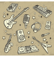 Musical instruments vector | Price: 3 Credits (USD $3)