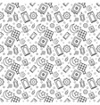 ramadhan outline pattern vector image