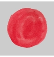 Red paint circle vector image vector image