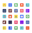 Science and Technology Colored Icons 3 vector image