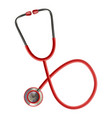 stethoscope medical stethoscope equipment vector image