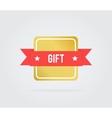 Gift card tag vector image