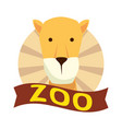 african lioness wild animal vector image vector image
