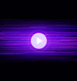 live stream multimedia banner with video player vector image