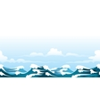 seascape pattern vector image vector image