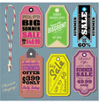 set of templates for Summer Sale vector image vector image