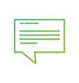 speech bubbles chat comment message talk vector image vector image