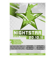 sport event poster active vector image vector image