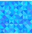 Abstract Blue Background with Triangle Shape vector image vector image