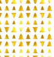 Christmas tree seamless background vector image