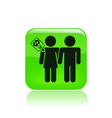 couple for cash vector image
