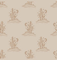desert cactus navajo ethnic concept harmony and vector image