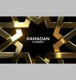 golden arabic pattern 3d