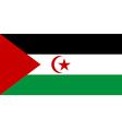 Sahrawi Arab Democratic Republic vector image vector image