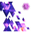 abstract background with geometric vector image vector image