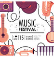 culture music festival celebration event vector image vector image