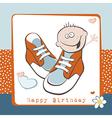 Happy Birthday boy vector image vector image