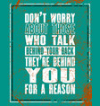 inspiring motivation quote with text do not worry vector image vector image