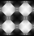monochrome geometrical dot pattern background vector image vector image
