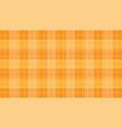 orange alternating grid background vector image vector image