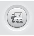 Training Icon Business Concept vector image vector image