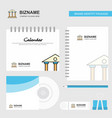 villa logo calendar template cd cover diary and vector image