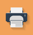 Icon of Printer Flat style vector image