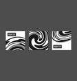 Abstract black background with waves and swirls