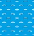 bridge pattern seamless blue vector image vector image