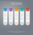 icon line cooperation set of employee networking vector image