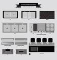 Kitchenvabinet furniture icon vector image vector image