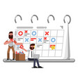 planning and organization helpers vector image vector image