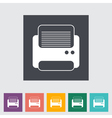 printer icon vector image