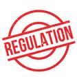 regulation rubber stamp vector image vector image