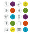 set of doodles elements vector image vector image