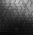 Abstract Geometric Technological Dark Gray vector image vector image